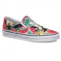Vans Classic Slip On digi aloha black/true white - dámské