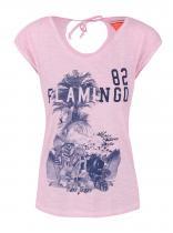 Cars Světle růžové tričko s potiskem Cammeron