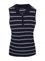 Dorothy Perkins Tmavě modré pruhované tričko bez rukávů