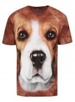 The Mountain Unisex triko Beagle