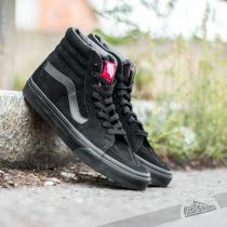 Vans Sk8-Hi Black/ Black Suede - dámské
