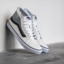 Vans Sk8-Hi Slim Cutout Mesh White/ Black - dámské