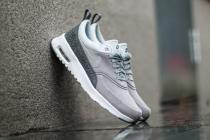 Nike Air Max Thea Premium Leather Matte Silver-Pure Platinum - dámské