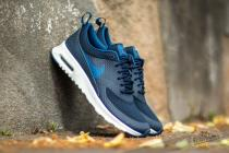 Nike Air Max Thea TXT Obsidian/ Coastal Blue-Summit White - dámské