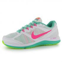 Nike Dual Fusion 3 White/Pink/Green - dámské