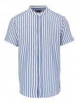 Casual Friday by Blend Bílo-modrá pruhovaná s krátkým rukávem