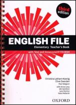 English File Elementary Teacherƒs Book with Test and Assessment CD-ROM