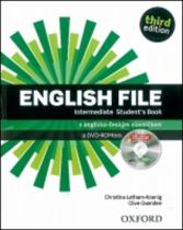 English File Intermediate Studentƒs Book + iTutor DVD-ROM Czech Edition