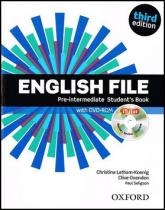 English File Pre-Intermediate Studentƒs Book + iTutor DVD-ROM