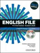 English File Pre-Intermediate Studentƒs Book + iTutor DVD-ROM Czech Edition