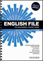 English File Pre-Intermediate Teacherƒs Book with Test and Assessment CD-ROM