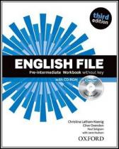 English File Pre-Intermediate Workbook without key + iChecker CD-ROM