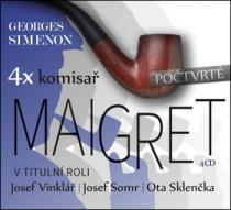4x komisař Maigret počtvrté - Georges Simenon