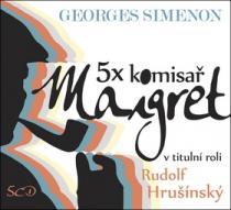 5x komisař Maigret - Radoslav Brzobohatý