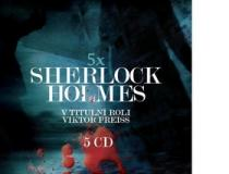 Sherlock Holmes 5 CD - Viktor Preiss