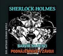Sherlock Holmes Barvíř na penzi, Podnájemnice v závoji - Maxmilián Hornyš