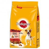 Pedigree Adult Mini s hovězím 12 kg
