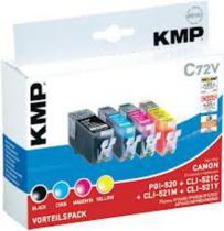 KMP C72V / PGI-520Bk CLI-521C,M,Y