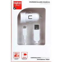Bigben USB 1A kabel MicroUSB