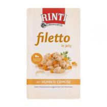 Rinti Filetto kuře & zelenina v želé 125 g