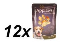 Applaws kuře & zelenina v ženšenovém vývaru 12 x 150 g