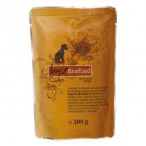 Dogz Finefood No.8 krůta & koza 100 g