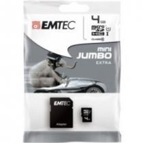 EMTEC Micro SD 4GB HC Class 10 + adapter