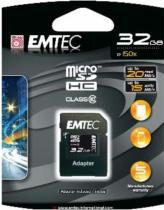 EMTEC microSD 32GB HC Class 10+adap.