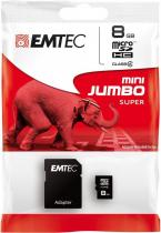EMTEC Micro SD 8GB 60x HC