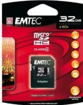 EMTEC Micro SD 32GB HC (Class 4)