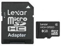 Lexar 8GB microSDHC s adaptérem Class 10