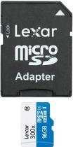 LEXAR 16GB microSDHC 300x s adaptérem
