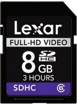 LEXAR Lexar 8GB SDHC Full-HD Video