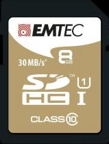 EMTEC SDHC 8GB Gold+ Class 10