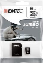EMTEC microSDHC 8GB Gold+ CL10 s adapt