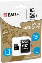 EMTEC micSDHC 32G Gold+Class10+adapt.