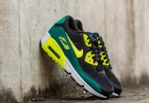 Nike Air Max 90 Mesh (GS) Black/ Volt-Rio Teal-White