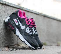 Nike Air Max 90 Mesh (GS) Black/ White - Vivid Pink