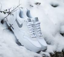 Nike Air Max 1 Ultra Essentials White/Wolf Grey Pure Platinum Metallic
