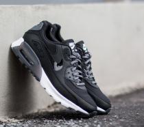 Nike Air Max 90 Ultra Essential Black/ Black- Dark Grey- Pure Platinum