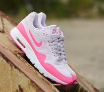 Nike Air Max 1 Ultra Moire Bleached Lilac/ Pink Blast- White