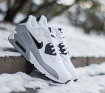 Nike Air Max 90 Essential White/Black-Wolf Grey