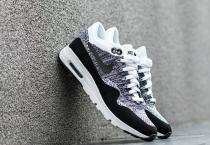 Nike Air Max 1 Ultra Flyknit White/ Black-Black