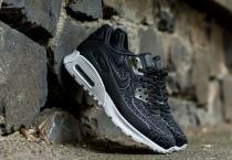 Nike Air Max 90 Ultra Plush Black/ Black-White