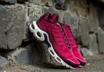 Nike Air Max Plus Premium Night Maroon/ Night Maroon-Nobel Red-Sail