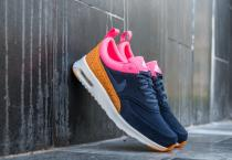 Nike Air Max Thea Premium Leather Obsidian/ Obsidian-Digital Pink-Sunset