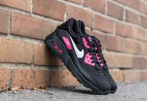 Nike Air Max 90 Ultra SE (GS) Black/ White-Hyper Pink
