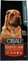 Cibau Dog Adult Sensitive Lamb & Rice 12 kg