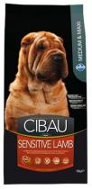 Cibau Dog Adult Sensitive Lamb & Rice 2,5 kg