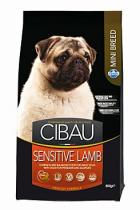 Cibau Adult Sensitive Lamb & Rice Mini 800 g